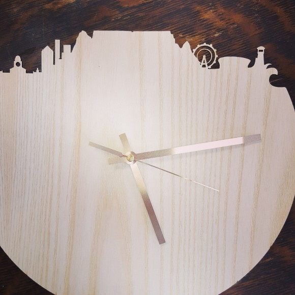 CT wall clock