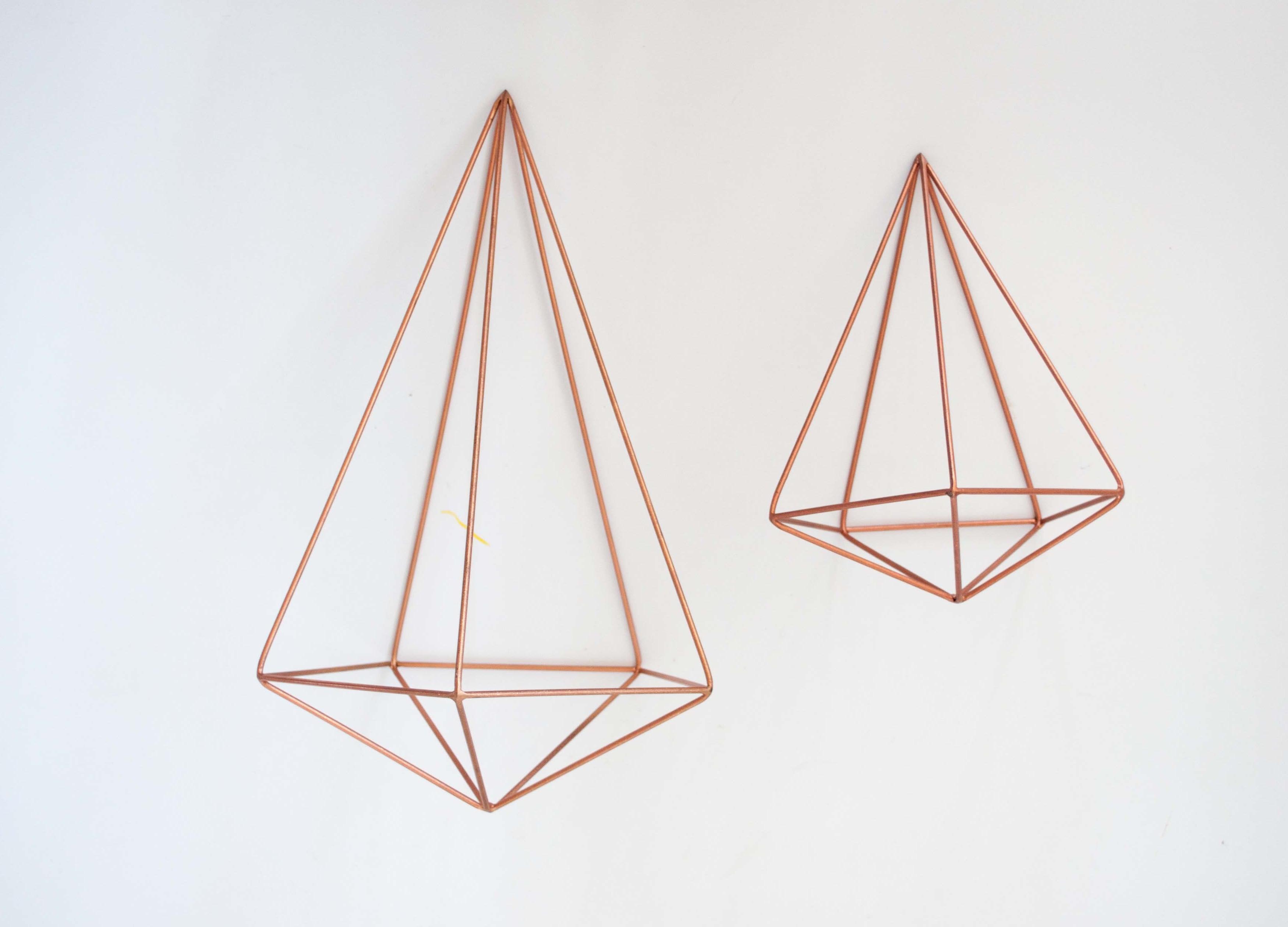 Himmeli 2 Hexagonal Hanging Sculpture Elsje Design