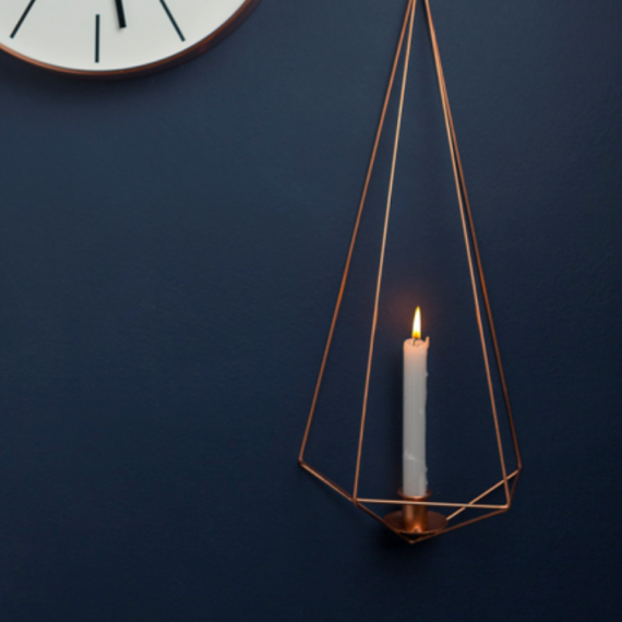 Wall Himmeli Candle Holder