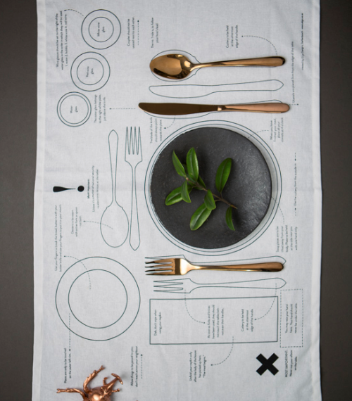 Manners Matter Tea Towel or Place Mat