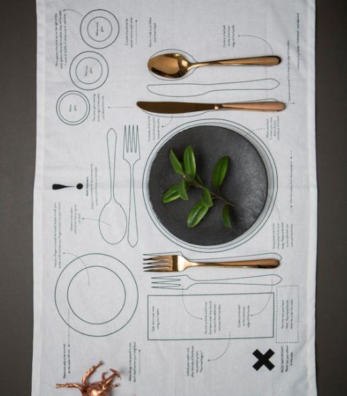 Manners Matter Tea Towel or Place Mat