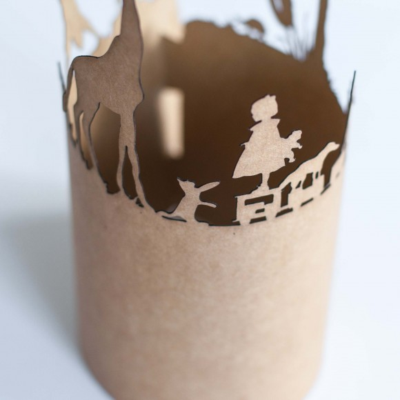 Story Candle Wrapper Close-up 1