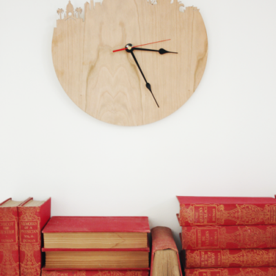 Cape Town Silhouette Wall Clock