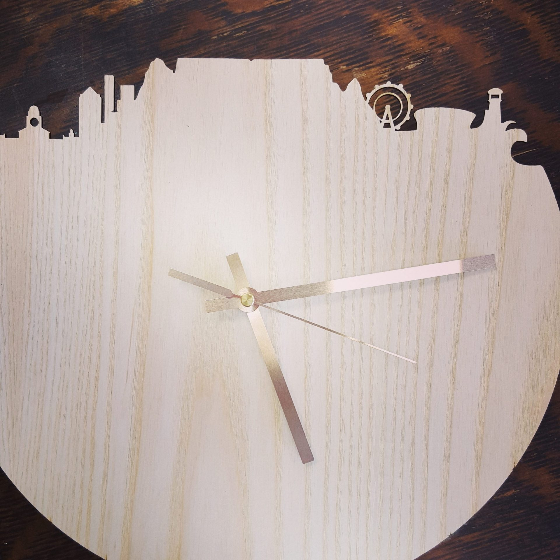 CT wall clock