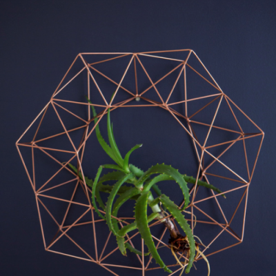 Geometric Wreath I Wall Art